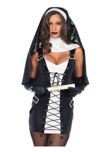 Naughty nun kostyme