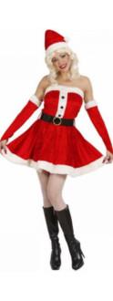 Miss Santa Julekostyme