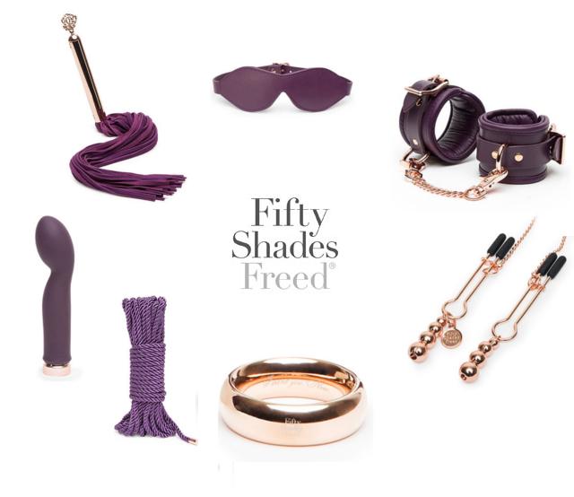 Fifty Shades Freed kolleksjonen