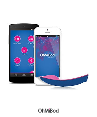 OhMiBod BlueMotion Bluetooth Vibrator