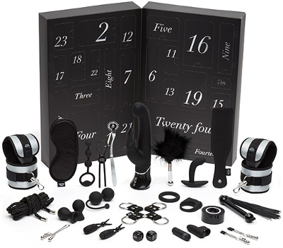 Fifty Shades of Grey adventskalender 2018