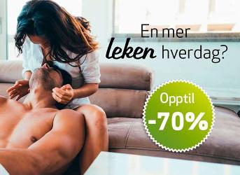 Tilbud på opptil 70 % på sexleketøy