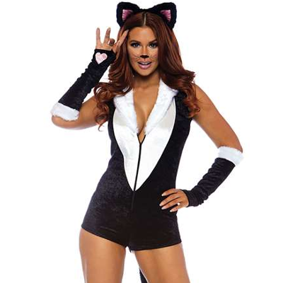 Kostyme sexy kitten