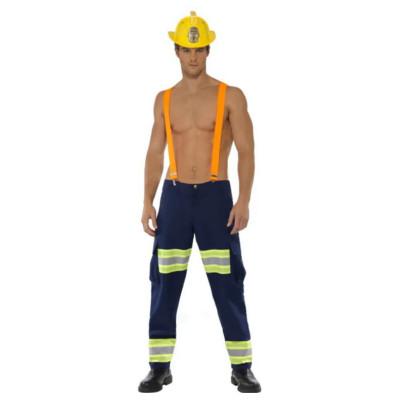 Sexy Fireman - Kostyme til Mann