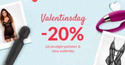 Valentinsdag hos Sinful